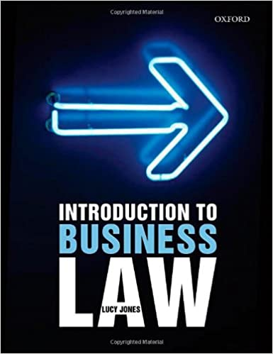 Introduction To Business Law Lucy Jones Pdf
