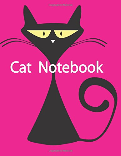 Download Cat Notebook: Journal for Cat or your pets,Notebook with line Size 8.5x11 inches, 100 pages, Cartoon cat with pink color blackgound Design Soft ... Workbook and for others proposes (Volume 6) pdf