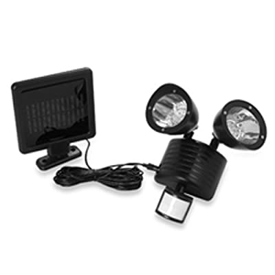Solar Powered Motion Sensor Light 22 LED Garage Outdoor Security Flood Spot Ligh