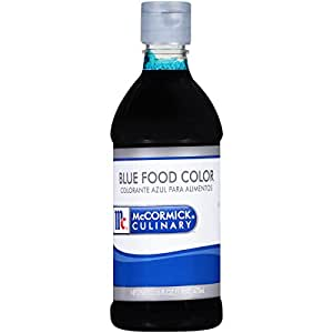 Amazon.com : McCormick Culinary Blue Food Color, 1 pt : Grocery ...