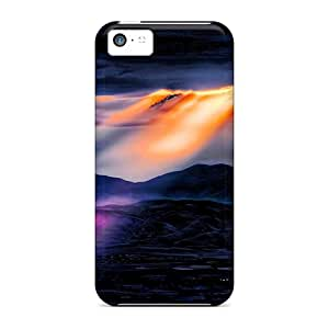 High Quality Wondercase Ray Of Hope Skin Case Cover Specially Designed For Iphone - 5c