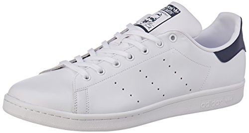 Smith Navy Baskets Blanc White Adulte Mixte Originals Stan 0 new running White running Adidas 76qxUSE