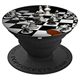 Checkmated Chess Pop Socket - PopSockets Grip and Stand for Phones and Tablets