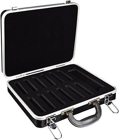 ARMONICA ACCESORIOS - Hohner (91141) (Estuche Armonicas) para 12 Armonicas de Blues y 1 Cromatica: Amazon.es: Instrumentos musicales