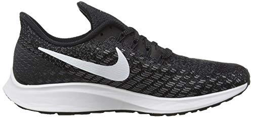 Nike Men's Air Zoom Pegasus 35 Running Shoe (6 M US, Black/White/Gunsmoke/Oil Grey) by Nike (Image #6)