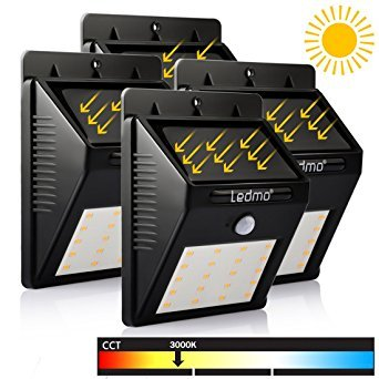 Outdoor Solar Lights Yellow - 5