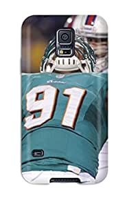 Galaxy Case - Tpu Case Protective For Galaxy S5- Miamiolphins