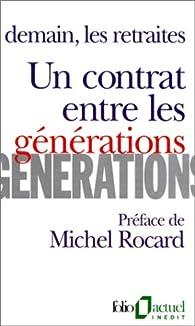 Un contrat entre les générations par Michel Rocard