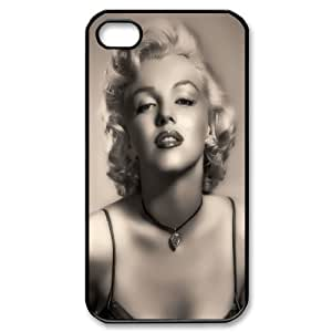 Goddess Marilyn Monroe Hard Plastic phone Case Cover For Iphone 4 4S case cover ZDI015203