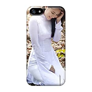 phone covers BestSellerWen For iPhone 5c Tpu Phone Case Cover(vietnamese Girl)