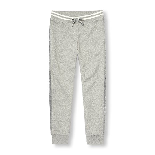 The Children's Place Big Girls' Active Joggers, Heather/T Smoke, XL (14) by The Children's Place (Image #1)