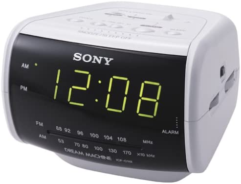 Sony ICF-C112 AM FM Clock Radio Discontinued by Manufacturer