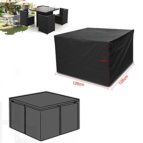 Vinteky Outdoor All Weather Furniture Cover Waterproof