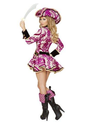 sc 1 st  Funtober & Womenu0027s Seductive Pirate Captain Costume (Roma) - Funtober