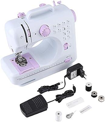 Máquina de coser de bolsillo, pequeña oficina en casa, coser la ...