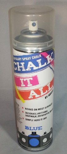 Chalk It All (Blue) case of 12 cans by Abrivo Sports
