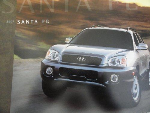 Original 2002 Hyundai Santa Fe Sales Brochure (Hyundai Santa Fe For Sale By Owner)