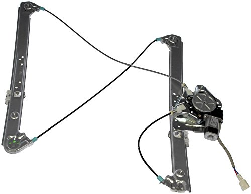 Dorman 741-488 Front Driver Side Power Window Regulator and Motor Assembly for Select BMW Models