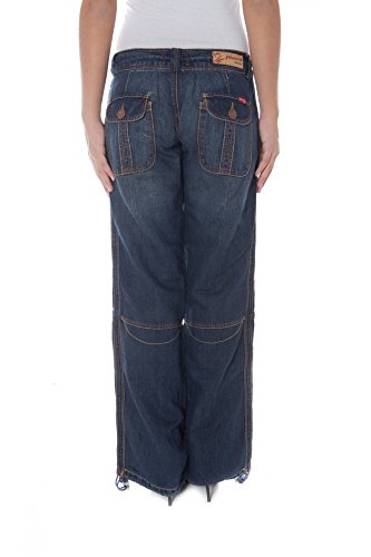 Wood Denim Azul Mujer Jeans P17024834126BW Phard 1750 Zqn5CC
