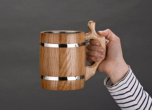 Handmade Wooden Decorative Metal Inside product image