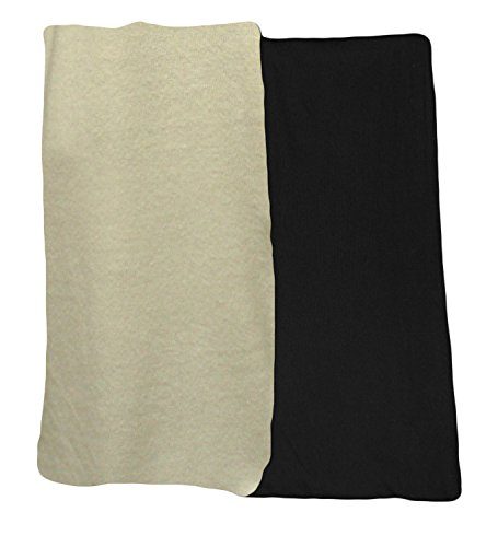 Ooh la la Unisex Super Soft Warm Sweater Knit Solid Classic Color 2 Scarf Gift Set