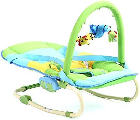 Rabbfay Baby Rocker Seat Music Shake, Newborn Portable Baby ...