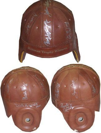 UPC 652118359732, RDB Holdings & Consulting CTBL-0B17855 Heisman Trophy Winners Signed Vintage Throwback Full Size Leather Helmet