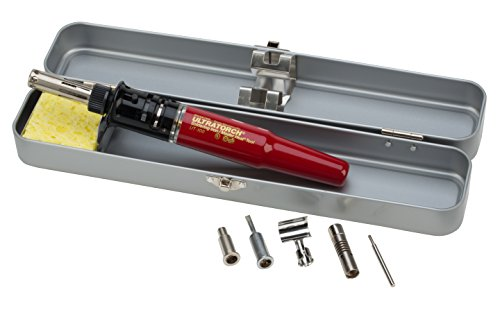 Master Appliance Cordless Soldering Iron - Master Appliance Ultratorch Series 3-in-1 Heat Tool with Metal Storage Case