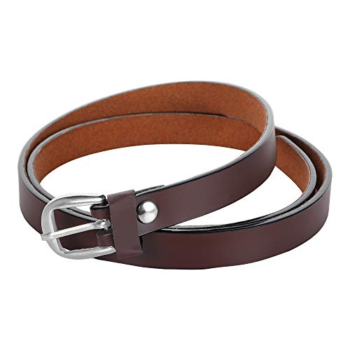 TRICFIX Women Casual, Formal, Party Brown Artificial Leather Belt