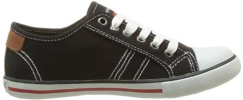 Kaporal Stanislas - Zapatillas de Deporte de tela niño negro - Noir (8 Noir)