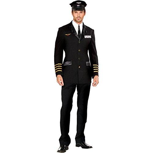 Mile High Pilot Hugh Jorgan Adult Costume - XX-Large