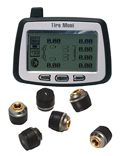 2 opinioni per TireMoni TM-260 Sistema di Monitoraggio della Pressione dei Pneumatici