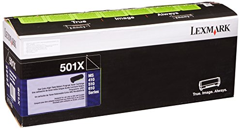 - Lexmark 50F1X00 Extra High Yield Return Program Toner