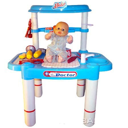 PowerTRC PS803 26'' Little Doctors Deluxe Medical Doctor Playset for Kids