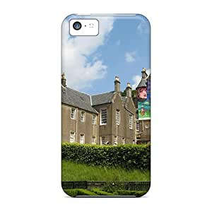 Cynthaskey VhFwzBF3725NHkHn Case Cover Iphone 5c Protective Case Colorful Castle