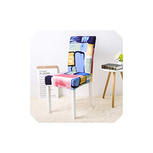 - New Floral Print Butterfly Chair Cover Home Dining Chair Covers Multifunctional Spandex Elastic Cloth Universal Stretch,Color 2,Universal Sizes