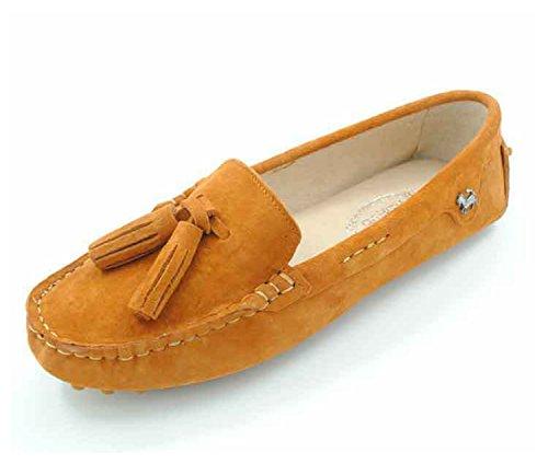 Minitoo , Sandales Compensées femme - orange - Orange,