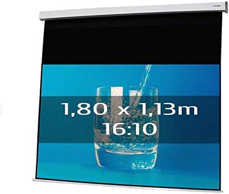 KIMEX 042 3432 Ecran de Projection électrique 1,80 x 1,13m