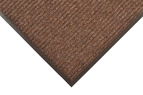 (Notrax 109 Brush Step Entrance Mat, for Home or Office, 3' X 4' Brown )