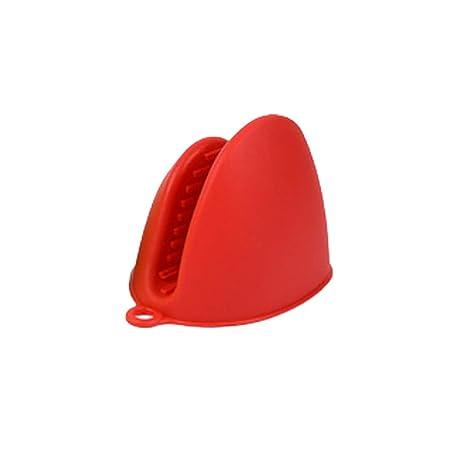 Ouken Silicona microondas mano Clip resistente al calor de cocción ...