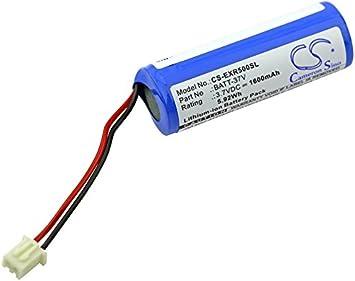 CS-EXR500SL Batería 1600mAh Compatible con [EXTECH] VIR 50, VIR50 sustituye BATT-37V