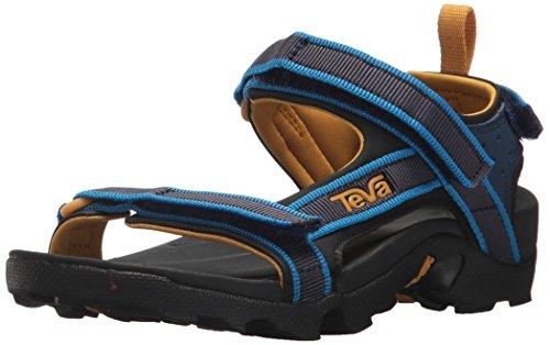 Teva Kids' K Tanza Sport Sandal, navy, 11 M US Little Kid