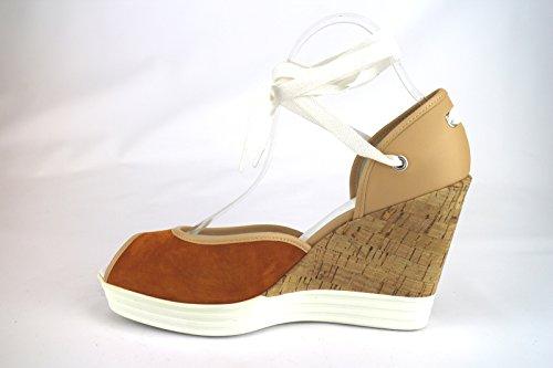 Hogan - Sandalias de vestir para mujer marroncino / beige