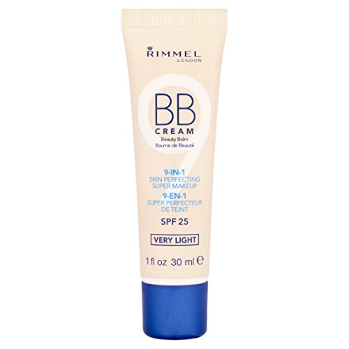 Rimmel London BB Beauty Balm 9-in-1 Cream - SPF 25 Very Ligh