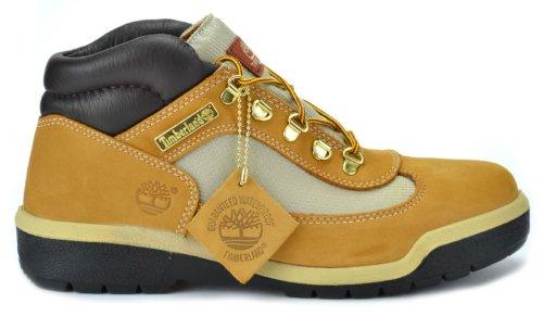 Timberland Men's Waterproof Field Boots Wheat/Nubuck 13070 (12 D(M) US) (Mens Waterproof Field Boot)