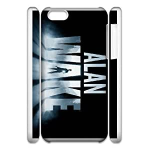 alan wake iphone 5c Cell Phone Case 3D White PSOC6002625724327
