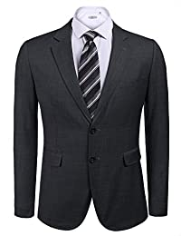 COOFANDY Men's Casual Business Suit Slim Fit Two Button Blazer Jacket