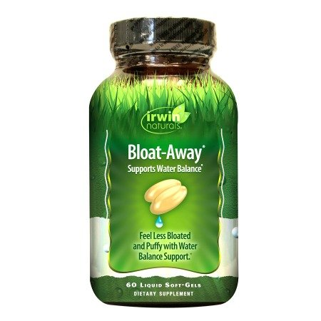 Irwin Naturals Bloat-Away Water Balance Support, Softgels – 3PC For Sale