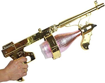 Sacacorchos última Barra Ktv Atmosphere Prop Pistola De Champán De Chorro De Pulverización Multifunción Con Base De Conversión De Boquilla