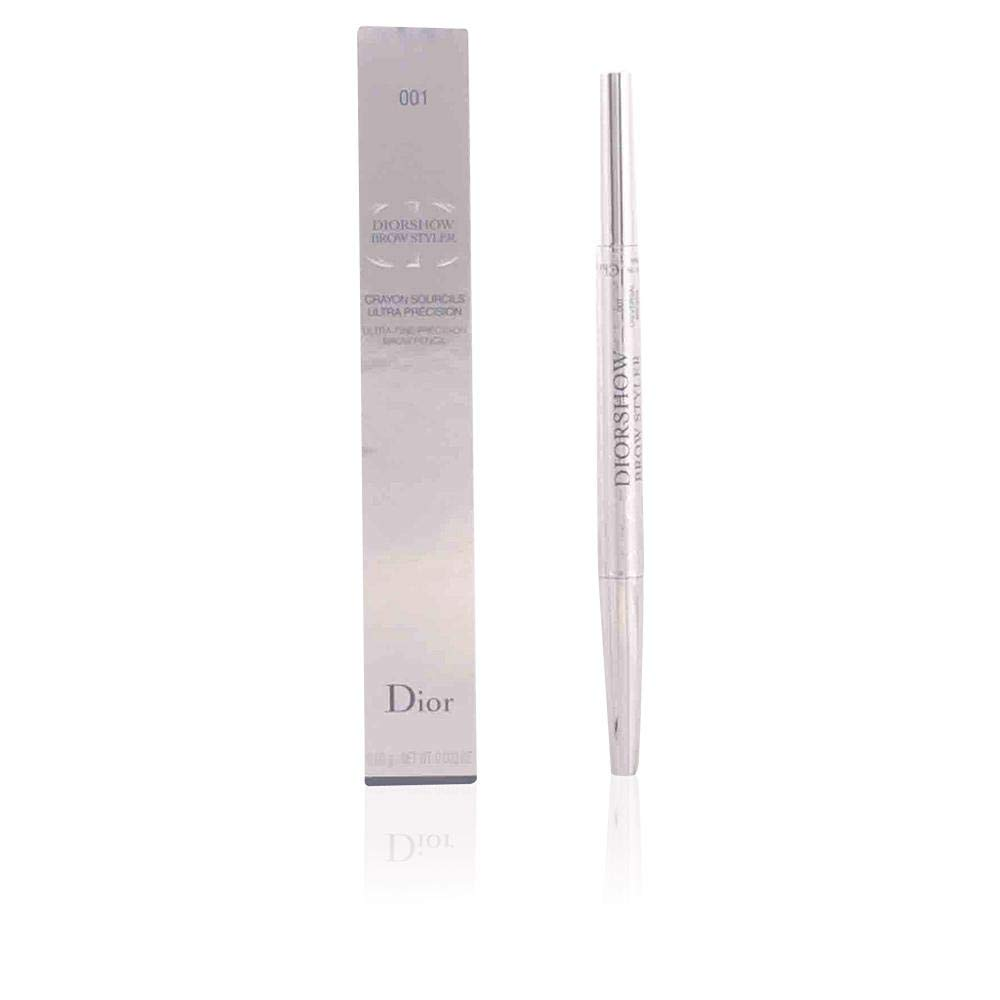 Christian Dior Diorshow Styler Ultra-fine Precision Brow Pencil, 002/universal Dark Brown, 0.01 Ounce